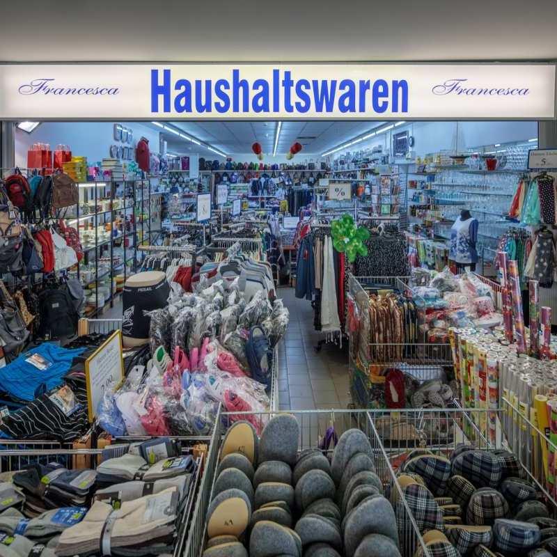 Francesca Haushaltswaren Bahnhofs Passage Bernau