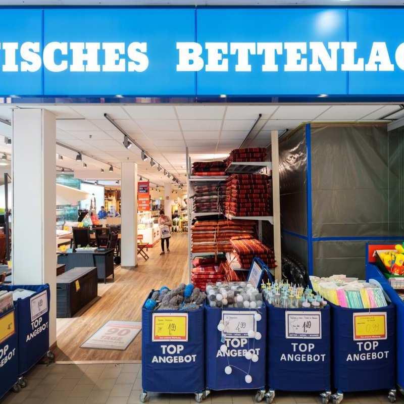 Dänisches Bettenlager Bahnhofs Passage Bernau